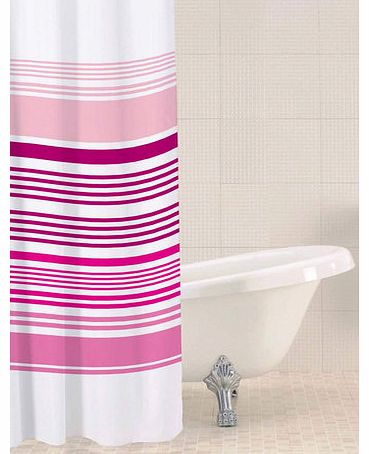 Raspberry Sabichi horizontal stripe shower