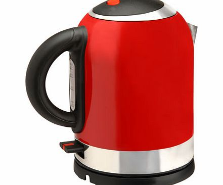 Red Essentials bullet kettle, RED METALLIC