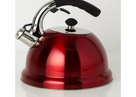 Red Essentials stove top kettle, red 9533893874