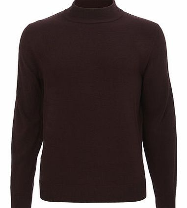Red Supersoft Turtle Neck, Red BR53A16FRED