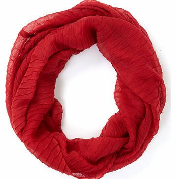 Red Wavy Woven Snood, red 6605543874