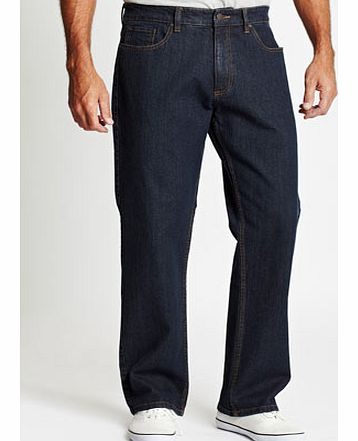 Regular Fit Jeans with Stretch, Blue BR59B03BBLU