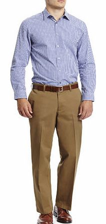 Relaxed Fit Camel Chinos, Cream BR58R01FNAT