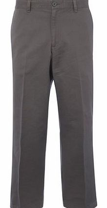 Relaxed Fit Grey Chinos, Grey BR58R01FGRY