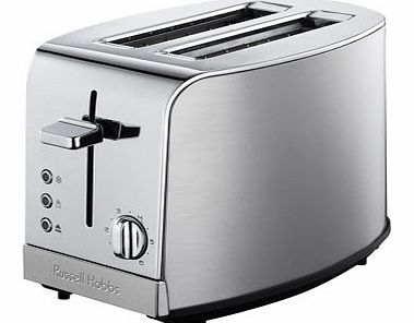 Russell Hobbs Deluxe 2 Slice Toaster, silver
