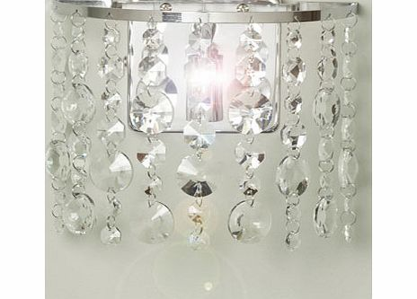 Saskia Wall Light, chrome 9783560409