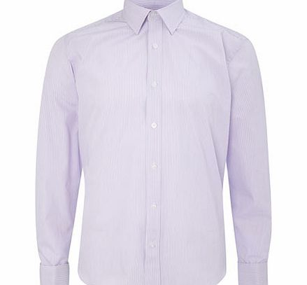 Scott and Taylor Violet Bengal Stripe Shirt,