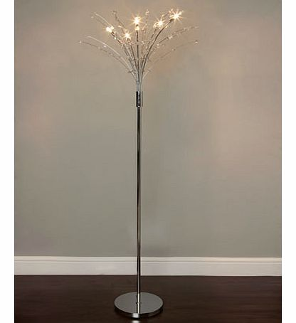 Sienna Floor Lamp, chrome 9742900409