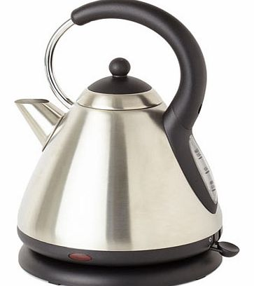 Stainless steel Essentials pyramid kettle,