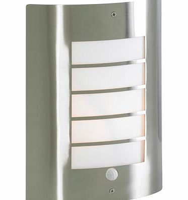 Stainless Steel Sigma Slat Outdoor Light,