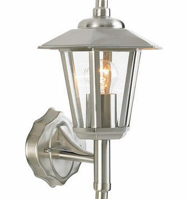 Stainless Steel Zeta 6 Sided Outdoor Light,