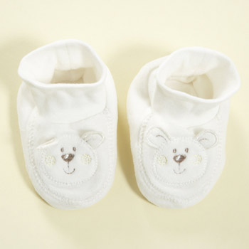 bhs Super soft bear booties