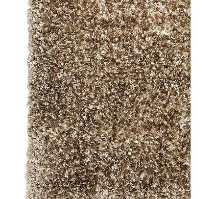 Taupe Lustrous Ribbon Yarn Rug 100x150cm, taupe