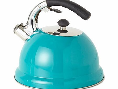 Teal Essentials stove top kettle, Soft Airforce