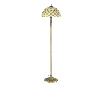 Tiffany jewel floor lamp