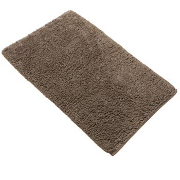 Ultimate combed cotton bath mat