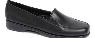 Womens Black Multi Hush Puppies Heaven Loafer