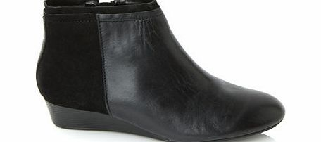 Womens Hush Puppies Black Candid Bootie, black