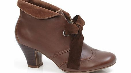 Womens Hush Puppies Brown Lonna Shootie Ankle