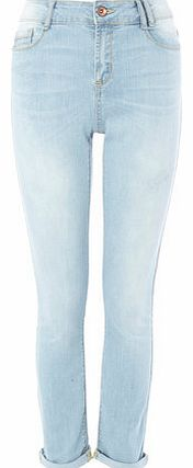 Womens Lightwash Slim Leg Jean, lightwash