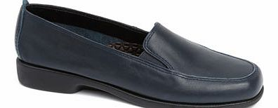 Womens Navy Multi Hush Puppies Heaven Loafer