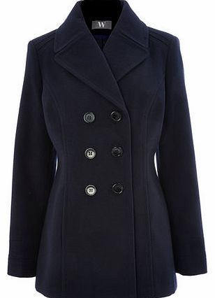 Womens Navy Peacoat, navy 8317200249