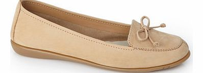 Womens Tan TLC Wide Fit Bow detail Loafer, tan