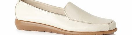 Womens TLC Beige Formal Loafers, beige 2838340431