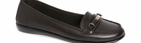 Womens TLC Black Trim Light Weight Loafer, black