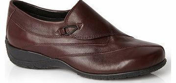 Womens TLC Burgundy Wrap Over Sporty Shoe,