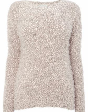 Womens Wheat Fluff Jumper, wheat 586224236