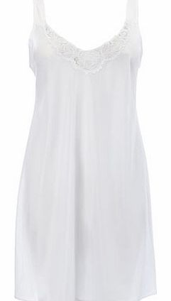 Womens White Guipure Full Slip, white 4800660306