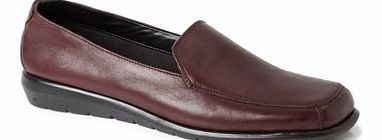 Womens Wine Formal Loafer Shoes, wine 2836940167