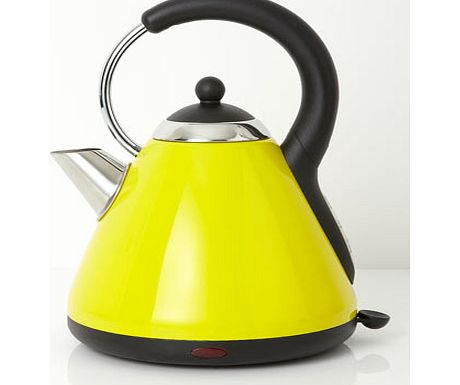 Yellow Essentials pyramid kettle, yellow