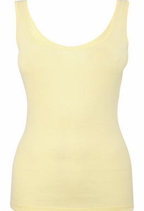 Yellow Scoop Vest, yellow 2420842383