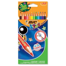 Kids Evolution Pencils Colour Wood-free