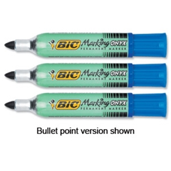 ONYX 1481 Mini Permanent Marker Blue Pack 12