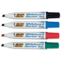 Velleda 1701 Whiteboard Marker Assorted Pack 4