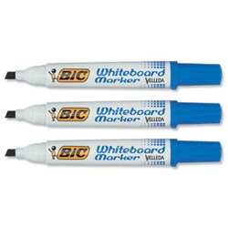 Velleda 1701 Whiteboard Marker Blue Pack 12
