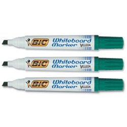 Velleda 1701 Whiteboard Marker Green Pack 12
