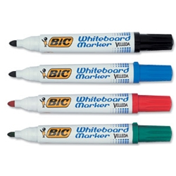 Velleda 1751 Whiteboard Marker Assorted Pack 4