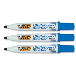 Velleda 1751 Whiteboard Marker Blue Pack 12