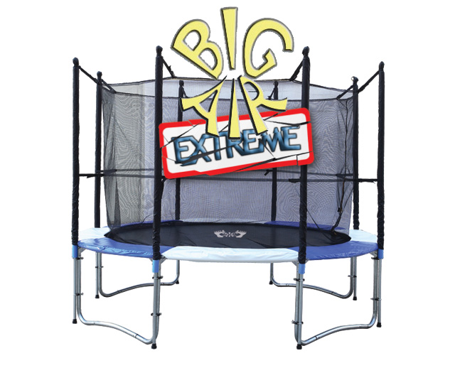 Big Air 10ft Trampoline Big Air Extreme With Safety