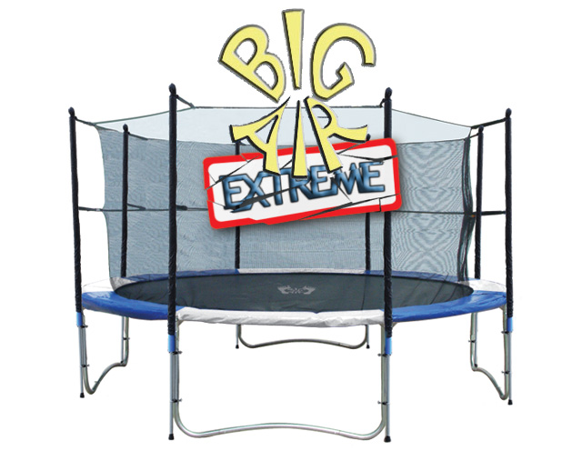Big Air 12ft Trampoline Big Air Extreme Safety Enclosure