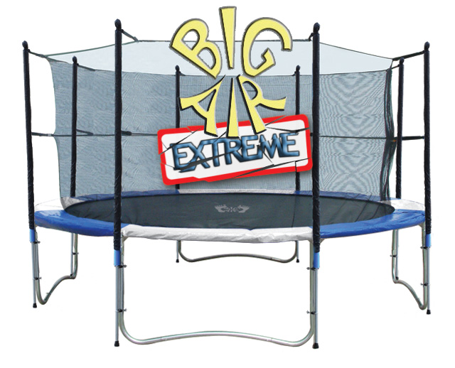 14ft Trampoline Big Air Extreme With Safety