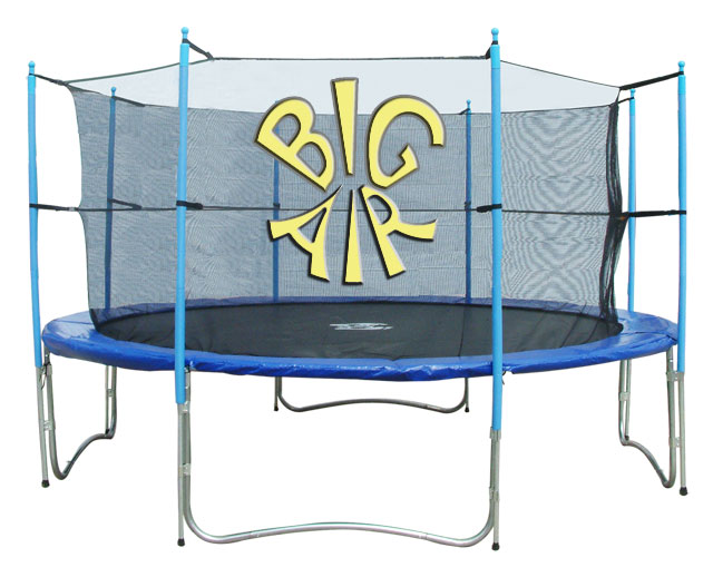 14ft Trampoline Big Air With Safety Enclosure