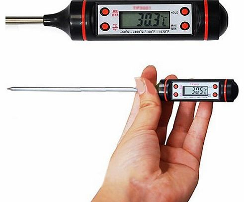 Food Probe Meat Digital Cooking Thermometer Kitchen BBQ