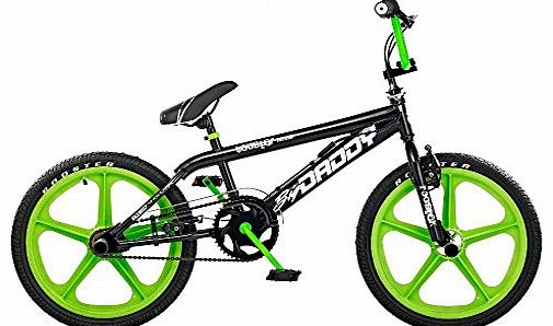 Rooster Big Daddy Boys Kids BMX Bike Bicycle 20`` Skyway Mag Wheels Gyro RS43