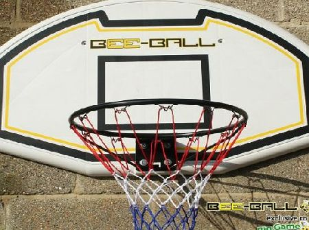 BEE-BALL ZY-015 Basketball Hoop with Full Size Backboard & Net for Outdoor use for Adults & Children.