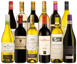Reds & Mouthwatering Whites Mixed Case -